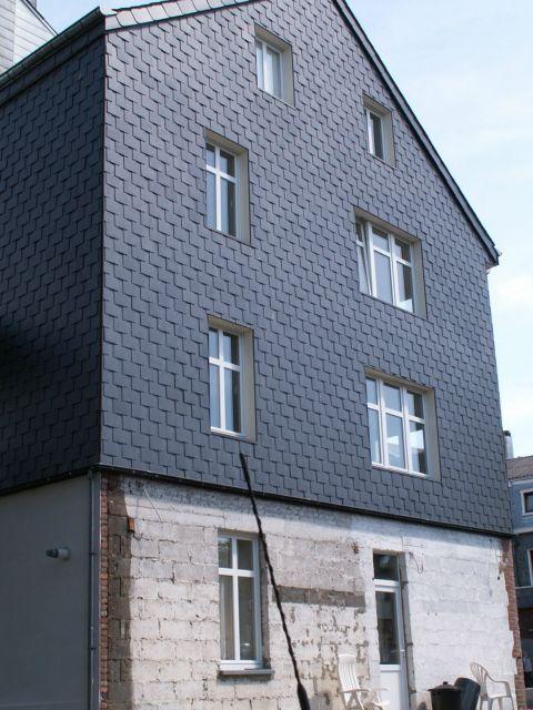 Toitures michoel ardoises naturelles et artificielles for Peinture facade gris ardoise
